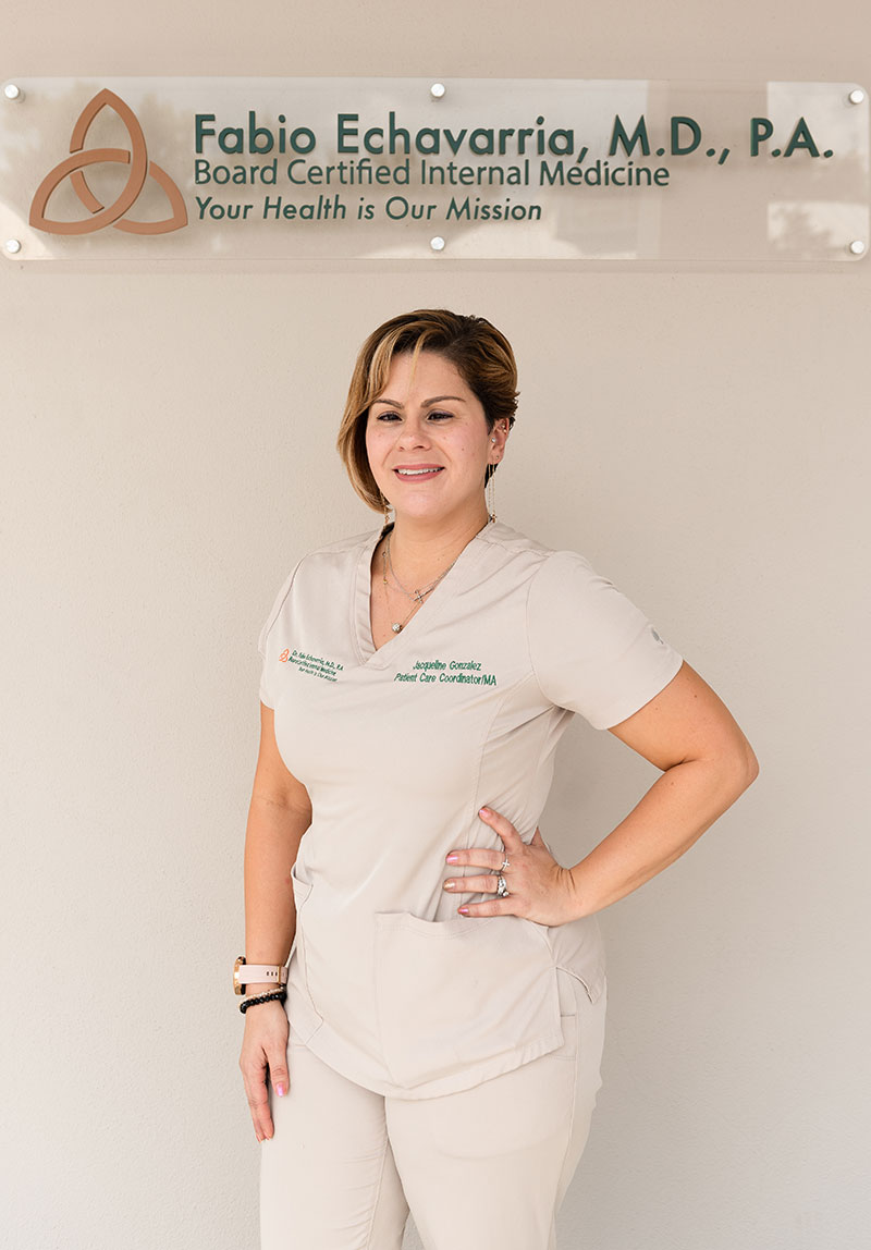 Jacqueline Gonzalez. Patient Care Coordinator