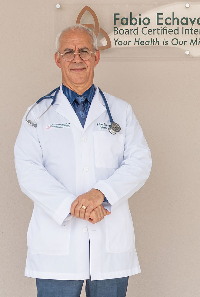 Fabio Echavarria, MD - Board Certified Internal Medicine