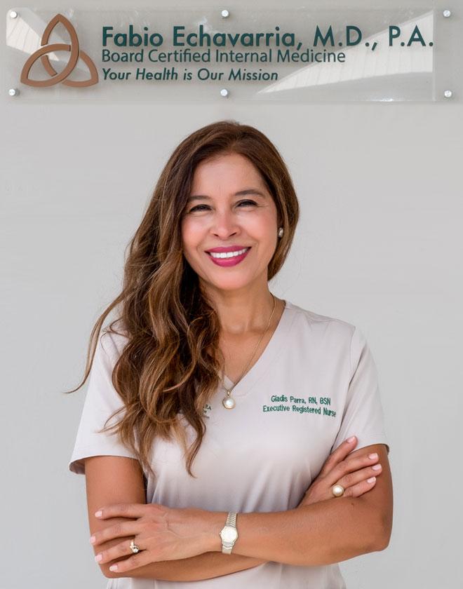 Gladis Parra - Executive Nurse at Fabio Echavarria