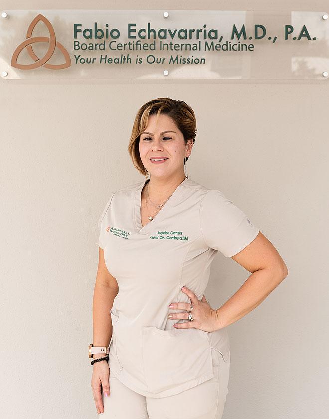Jacqueline Gonzalez - Patient Care Coordinator at Dr Fabio Echavarria