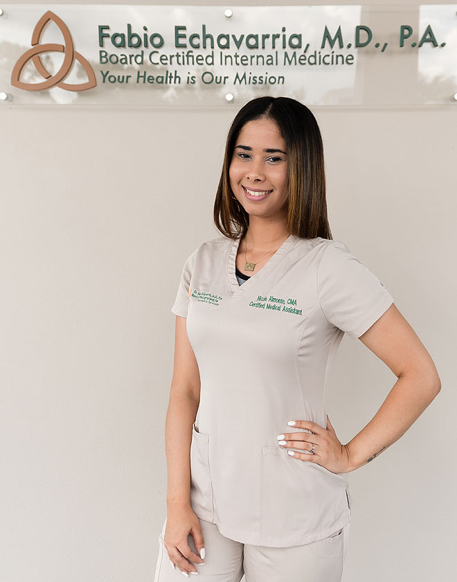 Nicole Almonte - Certified Medical Assistant at Fabio Echavarria