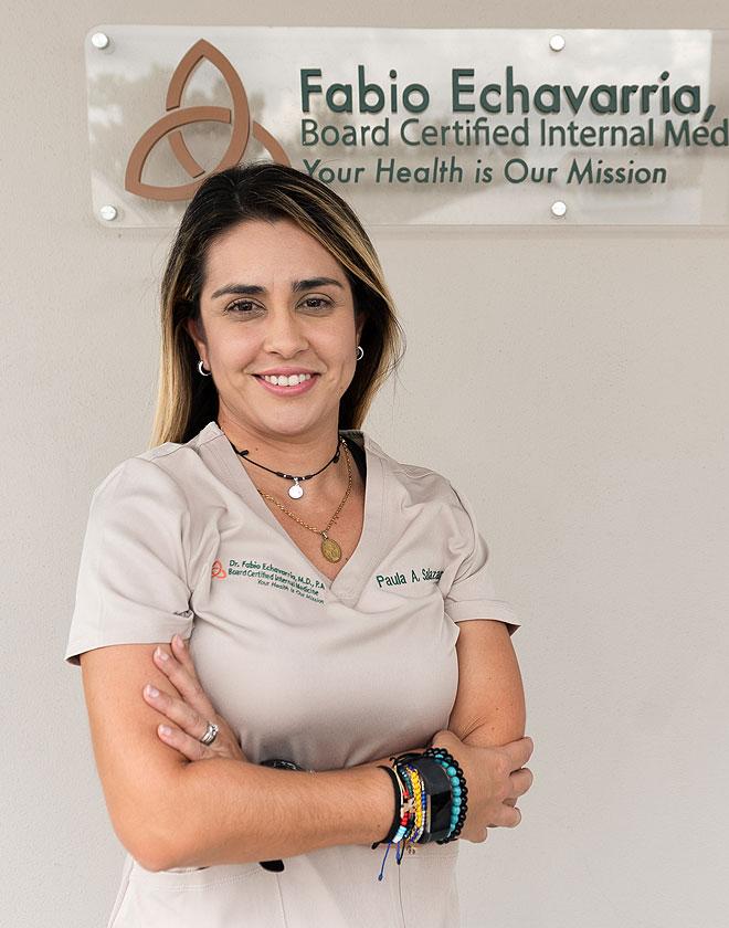 Paula Salazar - Certified Medical Assistant at Fabio Echavarria